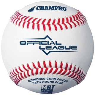 Champro Official League Double Cushion Cork Core Baseball Dz
