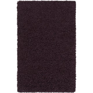 Hand-Woven Kirkham Solid New Zealand Wool Rug (3'6 x 5'6)