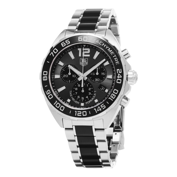 tag heuer men s caz1111 ba0878 formula 1 black dial stainless tag heuer men s caz1111 ba0878 formula 1 black dial stainless steel ceramic