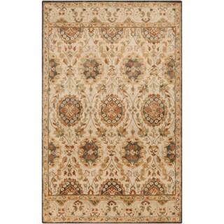 Hand-Tufted Matlock Border Indoor Wool Rug (3'3 x 5'3)