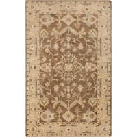 "Hand-Tufted Margate Border Indoor Wool Area Rug - 3'3"" x 5'3"""