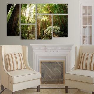 Ariane Moshayedi 'Muir Woods' 6 Panel Art Set