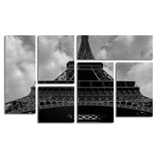 Moises Levy 'Eiffel I ' 6 Panel Art Set