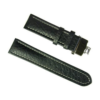 Banda Wyoming Buffalo Padded Leather Watch Strap