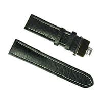 Banda Wyoming Buffalo Padded Leather Watch Strap