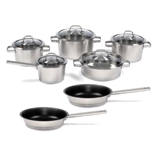 BergHOFF Manhattan LTD 12-piece Stainless Steel Cookware Set