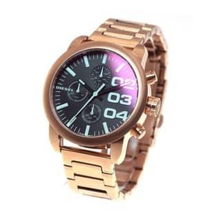 Diesel Women's DZ5454 Flare Rose Gold Watch|https://ak1.ostkcdn.com/images/products/10436492/P17533707.jpg?impolicy=medium