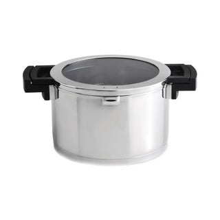 Berghoff Neo Glass 10-inch 6.7-quart Covered Stockpot