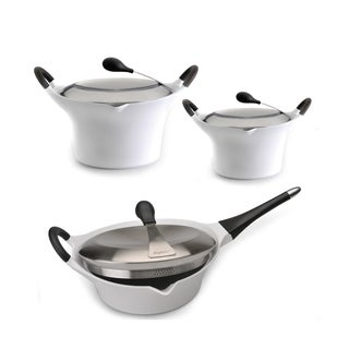 Berghoff Auriga 6-piece White Cookware Set