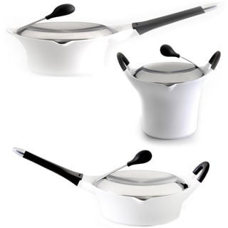 Berghoff Auriga Cast Aluminum Non-stick White 6-piece Set