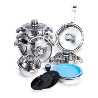 Berghoff Invico Vitrum 16-piece Cookware Set