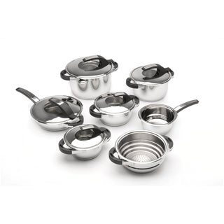 Berghoff Virgo 12-piece 18/10 Stainless Steel Cookware Set