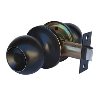 Constructor Passage Oil Rubbed Bronze Finish Chronos Door Lever Knob Handle Set