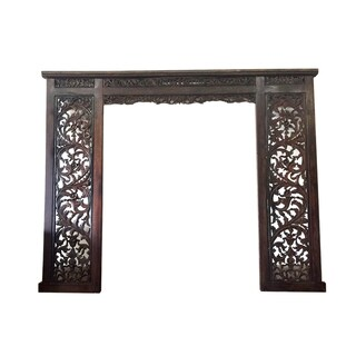 D-Art Rustic Carved Decorative Frame (Indonesia)