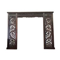 Handmade D-Art Rustic Carved Decorative Frame (Indonesia)