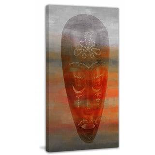 "Parvez Taj - ""African Mask"" Print on Canvas"