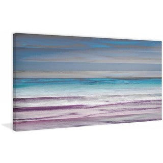 "Parvez Taj - ""Shoreline"" Print on Canvas"