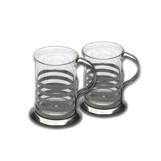 Berghoff Studio Silver-colored 2-piece Cup Set