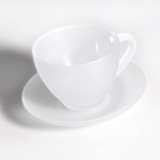 Berghoff Studio Frosted 8-piece Tea Cup and Saucer Set