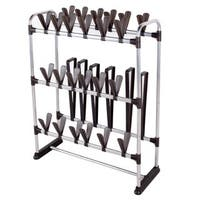 StorageManiac Multifunctional Shoe Organizer, Space Saving Shoe Rack for 24-Pair of Shoes and 3-Pair of Boots