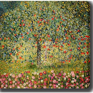 Gustav Klimt 'Apple Tree II' Oil on Canvas Art