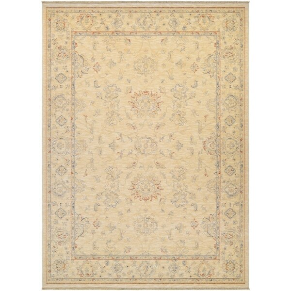 Couristan Elegance Alastair/Tan-Multi Area Rug - 6'6 x 9'8