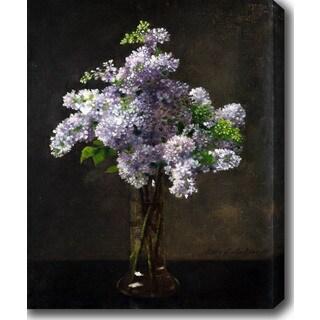 Lilac 'Otto Franz Scholderer' Oil on Canvas Art