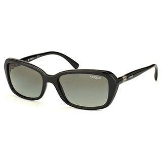 Vogue Women's VO2964SB Plastic Rectangle Sunglasses