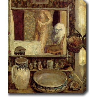 Pierre Bonnard 'The Toilet' Oil on Canvas Art