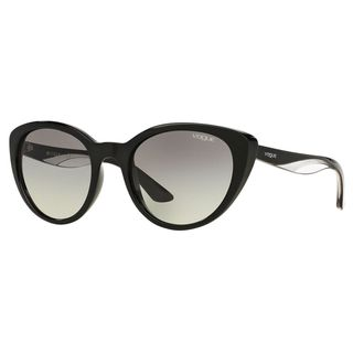 Vogue Women's VO2963S Plastic Cat Eye Sunglasses
