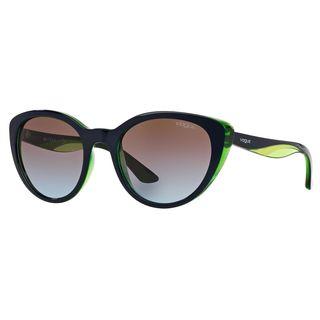 Vogue Women's VO2963S Plastic Cat Eye Sunglasses