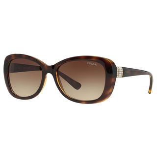 Vogue Women's VO2943SB Plastic Butterfly Sunglasses