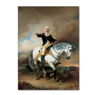 Shop John Faed Portrait Of George Washington Canvas Art