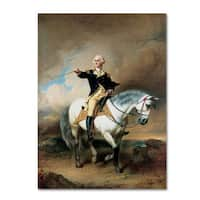 John Faed 'Portrait of George Washington' Canvas Art - Multi