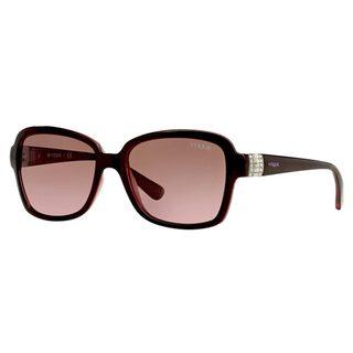 Vogue Women's VO2942SB Plastic Pillow Sunglasses