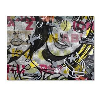 Dan Monteavaro 'Apologies' Canvas Art