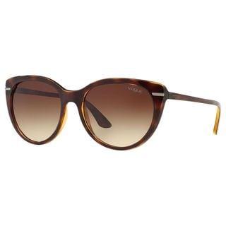 Vogue Women's VO2941S Plastic Cat Eye Sunglasses