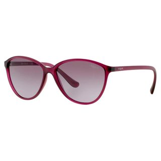 Vogue Women's VO2940S Plastic Butterfly Sunglasses