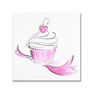 Jennifer Lilya 'Cupcake 8' Canvas Art