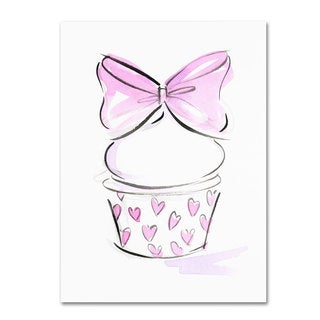 Jennifer Lilya 'Cupcake 6' Canvas Art