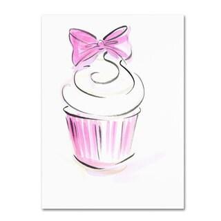 Jennifer Lilya 'Cupcake 3' Canvas Art