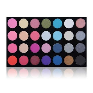 SHANY PERFECT VIEW Masterpiece with 28 Matte Colors, Shimmer Eye Shadow Palette, and Refill