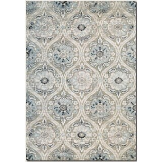 Couristan Ciré Cherrington Antique Cream Area Rug - 5'3 x 7'6