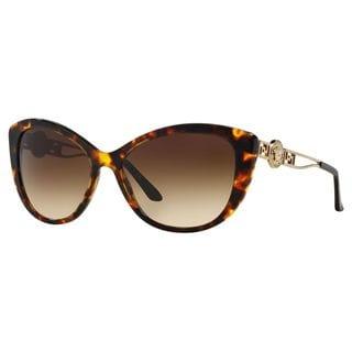 Versace Women's VE4295 Metal Cat Eye Sunglasses