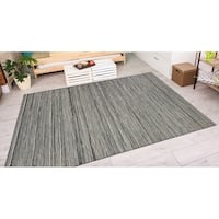 Vector Loft Light Brown Indoor/Outdoor Area Rug - 6'6 x 9'6