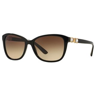 Versace Women's VE4293B Plastic Cat Eye Sunglasses