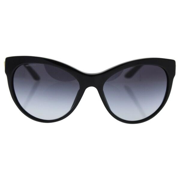 0d908c03e3727 Shop Versace Women s VE4292 GB1 8G Black Metal Phantos Sunglasses ...