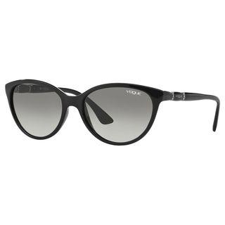 Vogue Women's VO2894SB Plastic Oval Sunglasses
