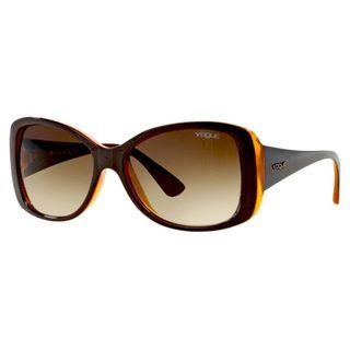 Vogue Women's VO2843S Plastic Square Sunglasses
