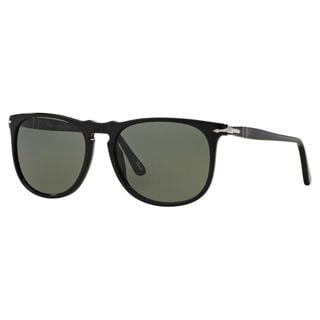 Persol Men's PO3113S Plastic Square Polarized Sunglasses